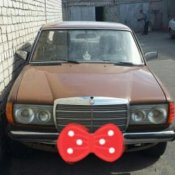 Mercedes-Benz E-Class, 1980