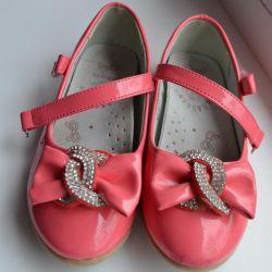 Παπούτσια με σόλα 17,5 cm, ορθοπεδική με σόλα