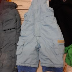 Trousers baby fall