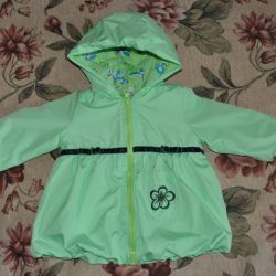 Warmed raincoat, practically new, 74 p.