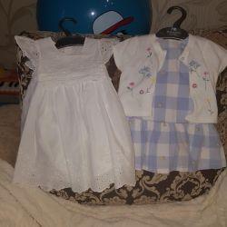 Dresses 6-9 months