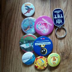 Badges, Charms
