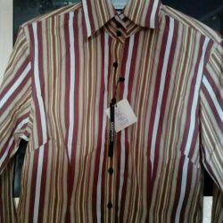 Blouse new shirt AZZARO (42S)