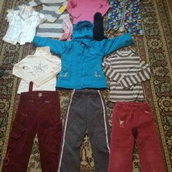 Clothing package 7-9 years