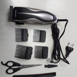 Yeni saç kesme makineleri ve sakal.