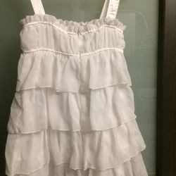 Beautiful white dress r.122-128