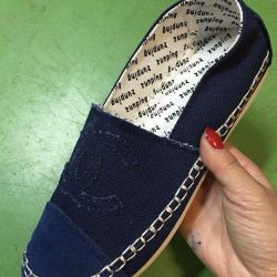 New Espadrilles Chanel
