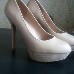 Туфли бежевые_39