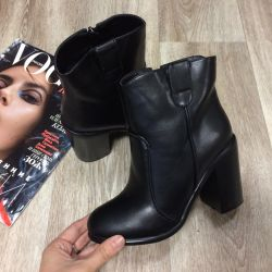 I will sell new ankle boots eco-leather spring 35,36,37,38