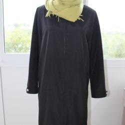 Пальто стильное на съeмном утеплителе