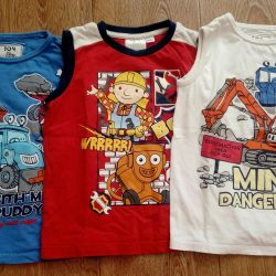 Miki, t-shirts, polo for a boy 3-5 years