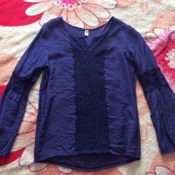 Блузка (жатая ткань)
