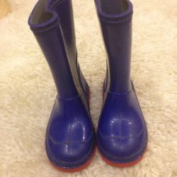 Rubber mothercare boots
