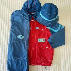 Jacket Pants Trio Suit Spring-Autumn