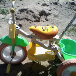 Ποδήλατο με 3 τροχούς που χρησιμοποιείται