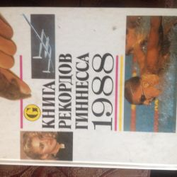 Guinness Book of Records 1988