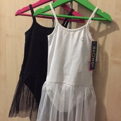Swimsuits with skirt for gymnastics / dances new