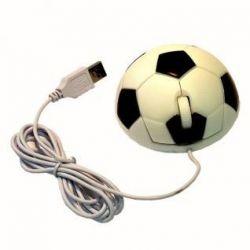 Миша комп'ютерна у вигляді футбольного м'яча