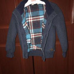 Jacket sacou pe băiat