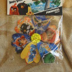 Ανεμόμυλοι παιχνιδιών Angry Birds