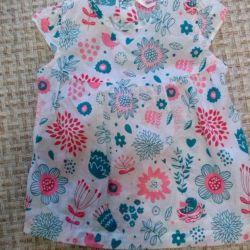 Καλοκαιρινό φόρεμα (6-12 μήνες)