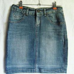 Юбка джинсовая, размер 42
