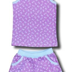 New set Top and shorts for girls. R 110,116.