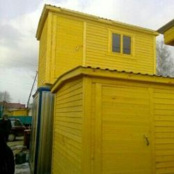 Change house, household block, sheds