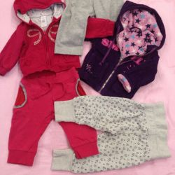 Sports pants and sweaters 62-80 cm