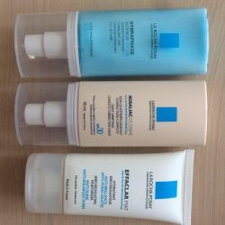 LA ROCHE cream and foundation
