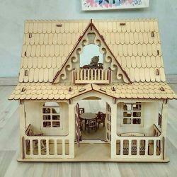 Ahşap kır evi