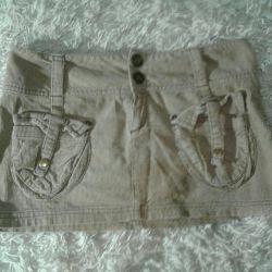 Mini Skirt (Cotton)