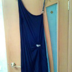 Stretch dress on one shoulder strap new