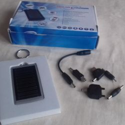 Solar charging for phones
