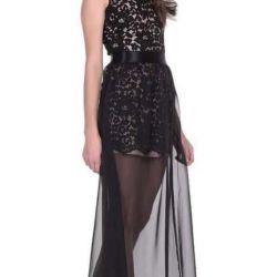 Новое кружевное с шифоном платье от Love Republic