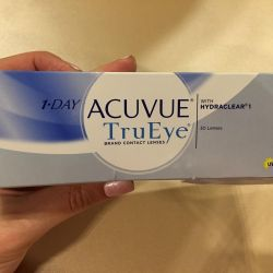 Линзы 1 day ACUVUE True Eye -0.75 9.0