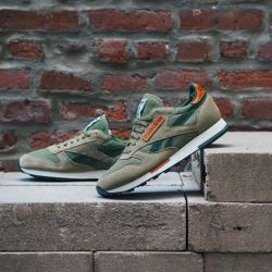REEBOK CLASSIC LEATHER UTILITY Sneakers (green)