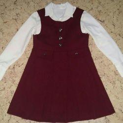 School uniform. P122 sundress