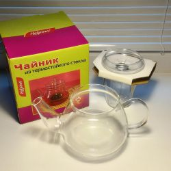 Helpina VGP 0,5L teapot with a bulb