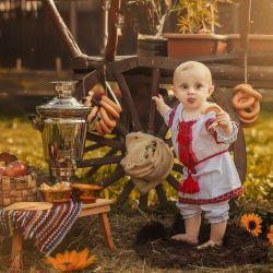 RUSSIAN FOLK SUIT for kids