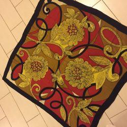 Vintage eșarfă de mătase