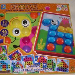 Mega-Mosaic Knopik for Kids