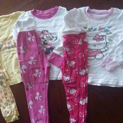 Pajamas and T-shirts