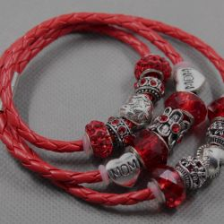 Bracelet in the style of Pandora 2181