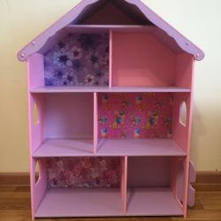 Little house for dolls Lol and Peppy