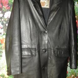 46-48. Jachetă din piele Tunisia.