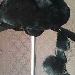 factory mouton hat