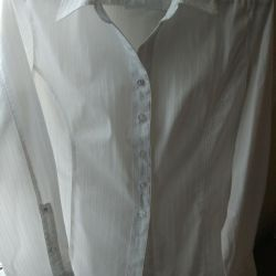 Business white shirt.