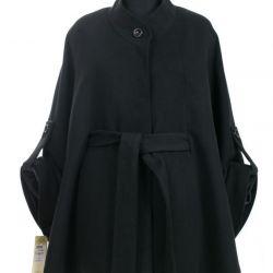 58-60p light overcoat in Cape style.