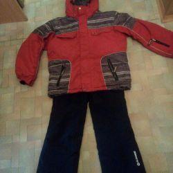 Зимний костюм на10-12 лет
